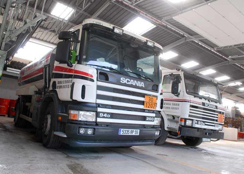 Camions fioul