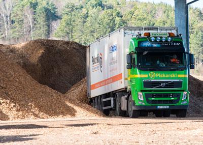 Transport bois energie